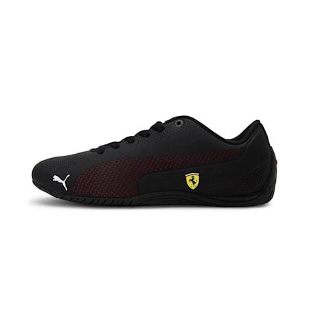 Scuderia Ferrari Drift Cat 5 Ultra Unisex Shoes, Puma Black-Rosso Corsa-Puma Black, small-IND