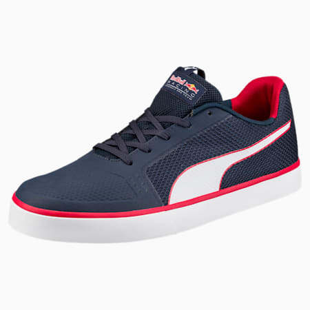 Red Bull Racing Wings Vulc Trainers, Ttl Eclps-Pm Wht-Chns Rd, small