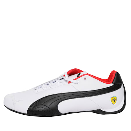 Ferrari Future Cat Original Shoes, White-Black-Rosso Corsa, small-IND