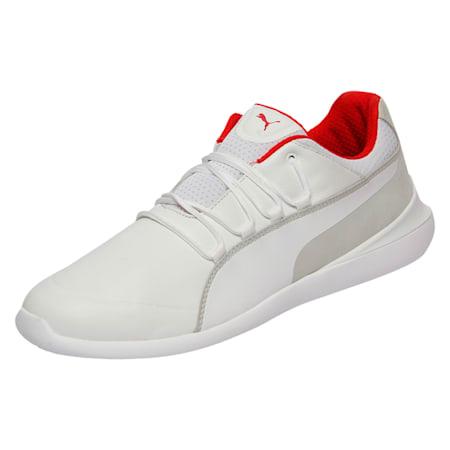 Scuderia Ferrari Evo Cat Men's Shoes, Puma White-Puma White, small-IND