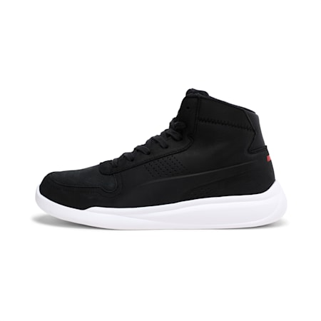 SF Podio 2 Mid Top Shoes, Moonless Night-Puma White, small-IND