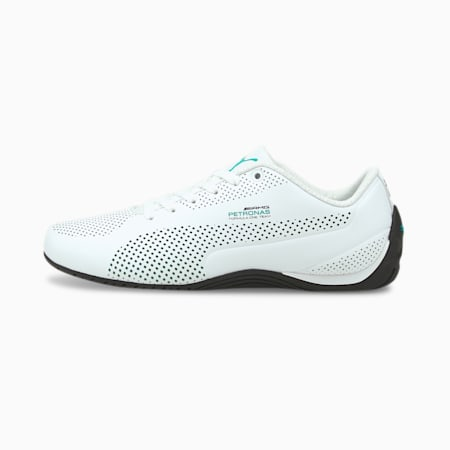 MERCEDES AMG PETRONAS Drift Cat Ultra Trainers, Puma White-Spectra Green-Blk, small