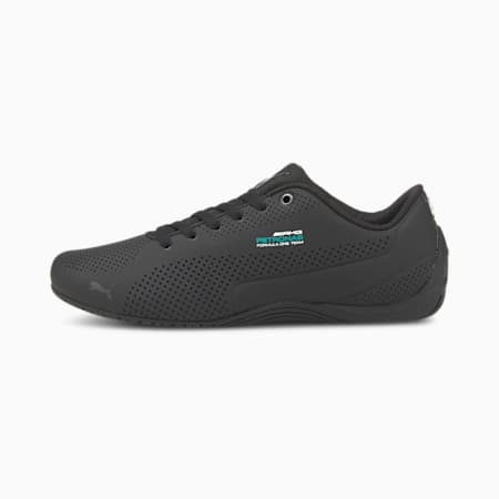 MERCEDES AMG PETRONAS Drift Cat Ultra Trainers, Puma Black-Dark Shadow-Blk, small