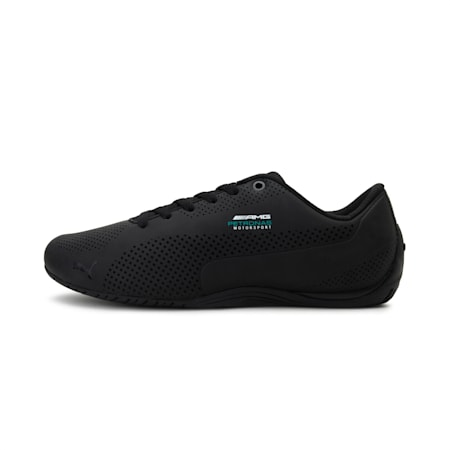 MERCEDES AMG PETRONAS Drift Cat Ultra Shoes, Puma Black-Dark Shadow-Blk, small-IND