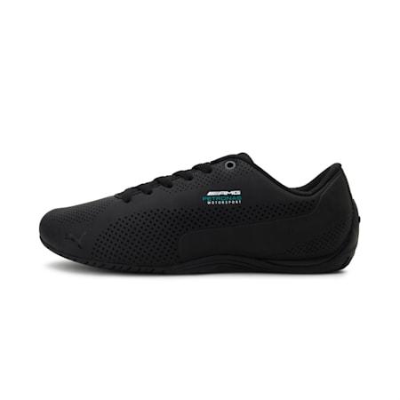 Mercedes Drift Cat ultra Unisex Shoes, Puma Black-Dark Shadow-Puma Black, small-IND