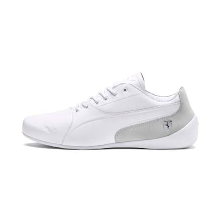 Ferrari Drift Cat 7 Lifestyle Men's Shoes, Puma White-Gray Violet, small-IND