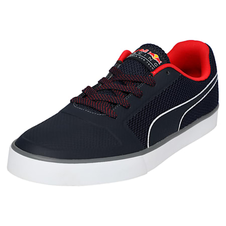 Redbull Racing Wings Vulc Unisex Shoes, NIGHT SKY-NIGHT SKY-Chns Red, small-IND