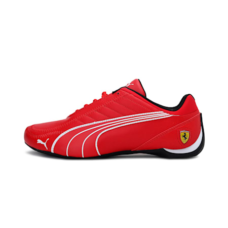 SF Future Kart Cat Unisex Shoes, Rosso Corsa-Puma White, small-IND