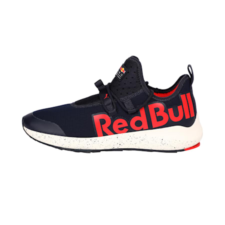 Red Bull Racing Evo Cat II Shoes, NIGHT SKY-Chns Rd-Whspr Wht, small-IND