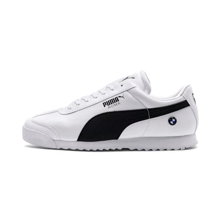 Zapatos deportivos BMW M Motorsport Roma para hombre, Puma White-Anthracite, pequeño