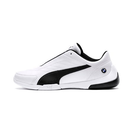 BMW M Motorsport Kart Cat III Men's Shoes, Puma White-Anthracite, small