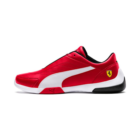 Ferrari Kart Cat III Shoes, Rosso Corsa-Puma White, small-IND