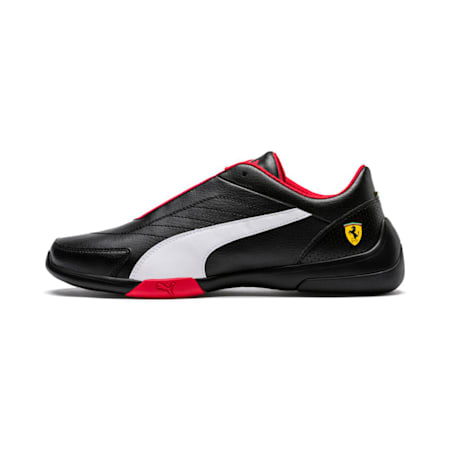 Ferrari Kart Cat III Shoes, Puma Black-Puma White, small-IND
