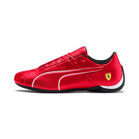 SF Future Cat Ultra Unisex Shoes, Rosso Corsa-Puma White, small-IND