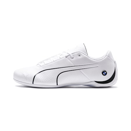 BMW Motorsport Future Cat Ultra Shoes, Puma White-Anthracite, small-IND