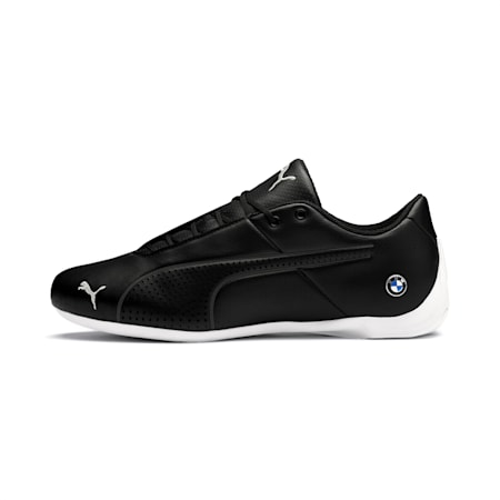 BMW Motorsport Future Cat Ultra Trainers, Black-White-Gray Violet, small