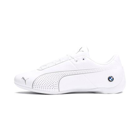 BMW M Motorsport Future Cat Ultra Sneaker, White-White-Gray Violet, small