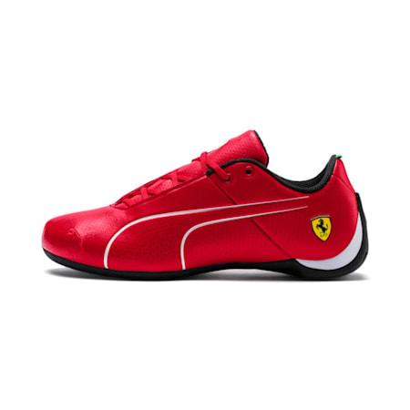 SF Future Cat Ultra Kid's Shoes, Rosso Corsa-Puma White, small-IND