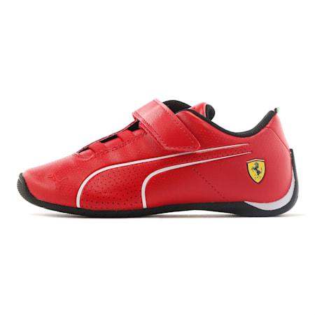 Ferrari Future Cat Ultra V Preschool Kinder Sneaker, Rosso Corsa-Puma White, small