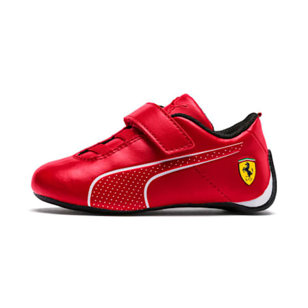 SF Future Cat Ultra V PS Unisex Shoes, Rosso Corsa-Puma White, small-IND