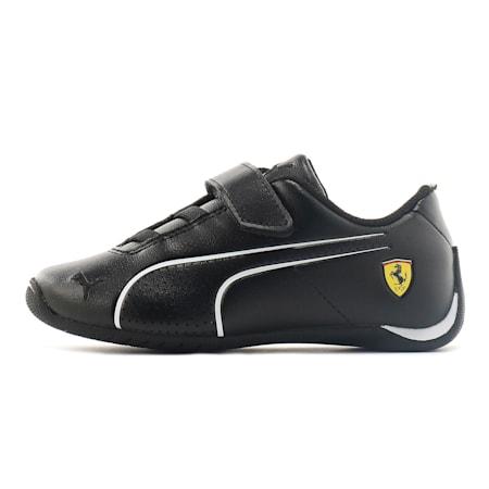 Ferrari Future Cat Ultra V Preschool Kinder Sneaker, Puma Black-Puma White, small