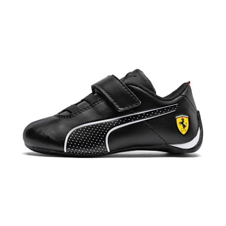 Ferrari Future Cat Ultra Baby Trainers, Puma Black-Puma White, small