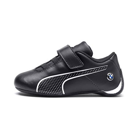 BMW M Motorsport Future Cat Ultra Baby Trainers, Anthracite-Puma White, small