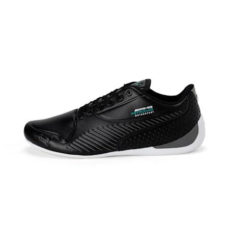 Mercedes AMG Petronas Drift Cat 7S Ultra Men's Shoes, Puma Black-Puma Black, small-IND