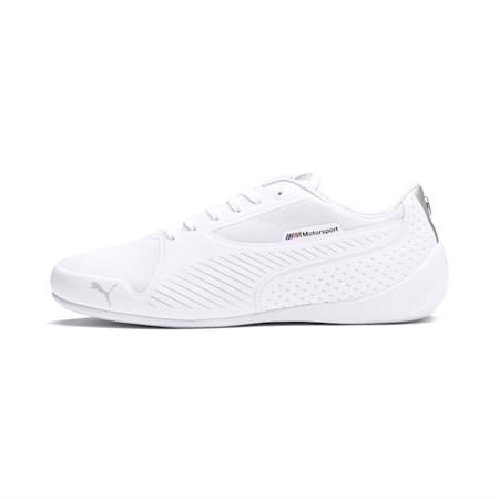 BMW M Motorsport Drift Cat 7 Ultra Trainers, Puma White-Puma Silver, small