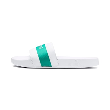 MAPM Leadcat Slides, Puma White-Spectra Green, small