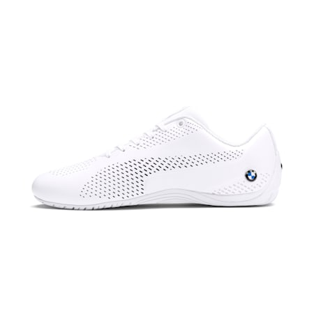 BMW M Motorsport Drift Cat 5 Ultra II Men's Shoes, Puma White-Puma Black, small