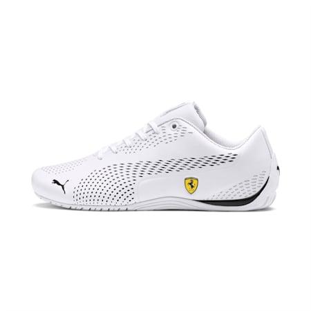 Ferrari Drift Cat 5 Ultra II Shoes, Puma White-Puma Black, small-IND