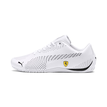 SF Drift Cat 5 Ultra II Unisex Shoes, Puma White-Puma Black, small-IND