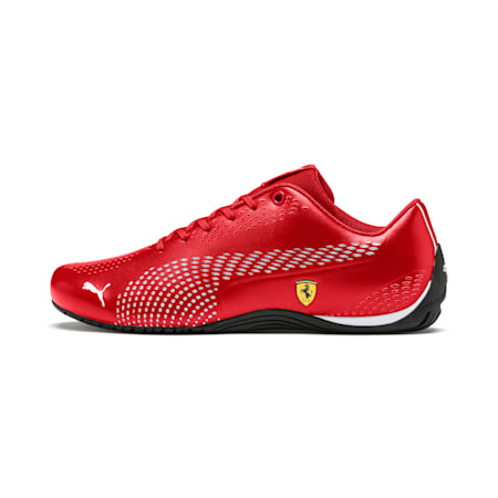 Ferrari Drift Cat 5 Ultra II Shoes, Rosso Corsa-Puma White, small-IND