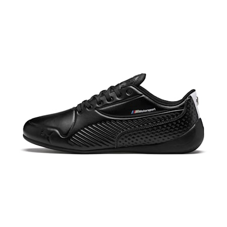 BMW M Motorsport Drift Cat 7S Ultra Shoes, Puma Black-Puma White, small-IND