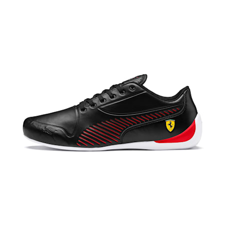 Ferrari Drift Cat 7S Ultra Men's Trainers, Puma Black-Rosso Corsa, small