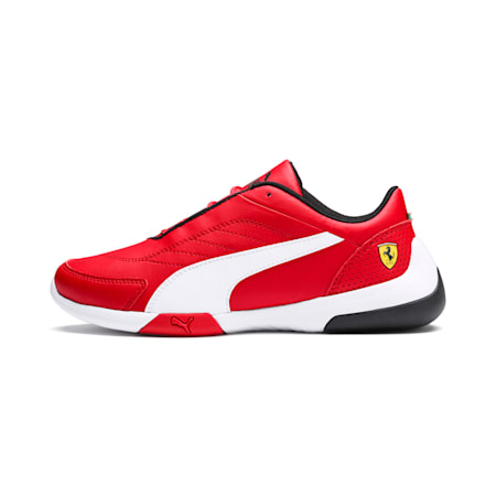 Ferrari Kart Cat III Youth Shoes, Rosso Corsa-Puma White, small-IND