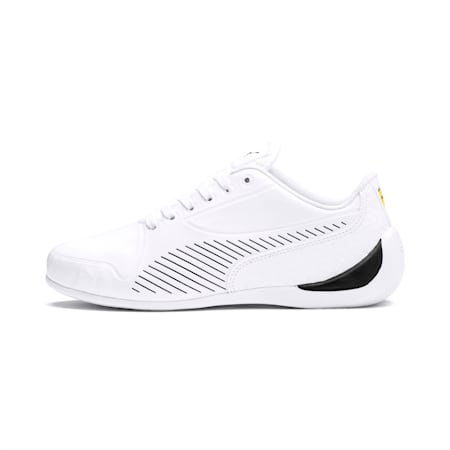 Ferrari Drift Cat 7S Ultra Youth Trainers, Puma White-Puma Black, small