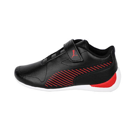 SF Drift Cat 7S Ultra V PS Unisex Shoes, Puma Black-Rosso Corsa, small-IND