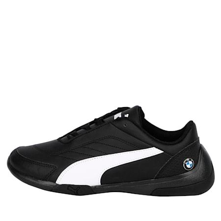 BMW M Kart Cat III Youth Shoes, Puma Black-Puma White, small-IND