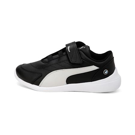 BMW M Kart Cat III Kids' Shoes, Puma Black-Gray Violet, small-IND