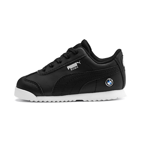 BMW M Motorsport Roma Toddler Shoes, Puma Black-Puma Black, small