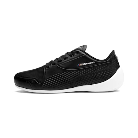 Zapatillas BMW M Motorsport Drift Cat 7S Ultra para jóvenes, Puma Black-Puma Black, small