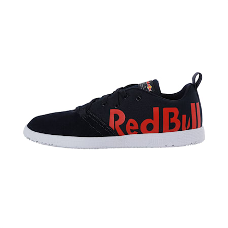Redbull Racing Cups Lo Unisex Shoes, NIGHT SKY-White-Chinese Red, small-IND