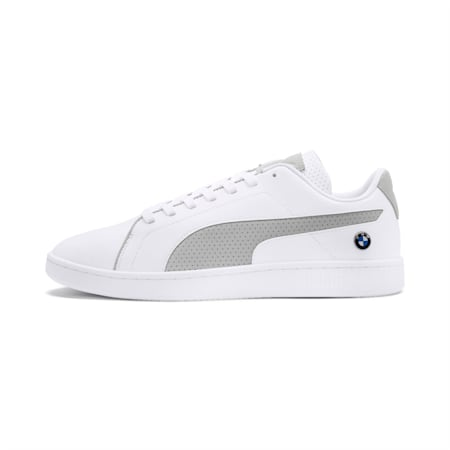 BMW M Motorsport Smash v2 Men's Sneakers, Puma White-Gray Violet, small