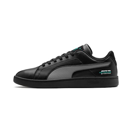 Mercedes AMG Petronas Smash v2 Men's Sneakers, Black-Smkd Pearl-Spectra Grn, small