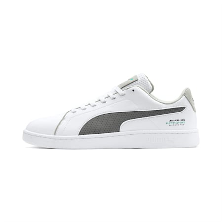 Mercedes AMG Petronas Smash v2 Men's Sneakers, White-Smoked Prl-Spectra Grn, small