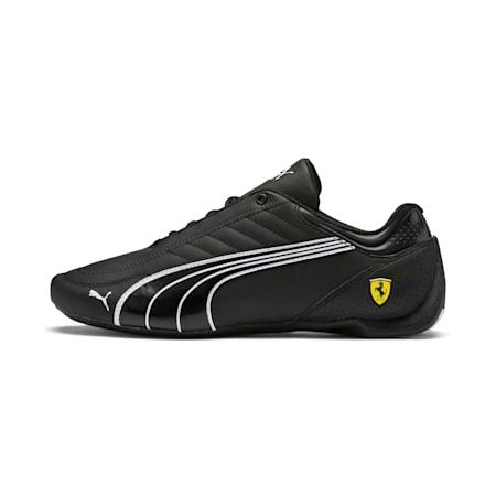 Ferrari Future Kart Cat Trainers, Black-Puma White-Rosso Corsa, small