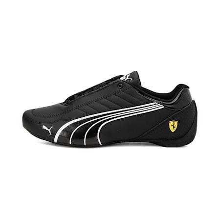 SF Future Kart Cat Unisex Shoes, Black-Puma White-Rosso Corsa, small-IND