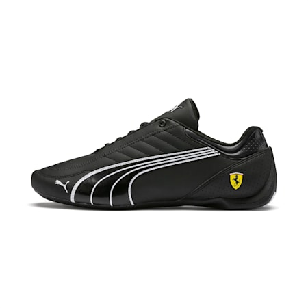 Scuderia Ferrari Future Kart Cat Men's Shoes, Black-Puma White-Rosso Corsa, small